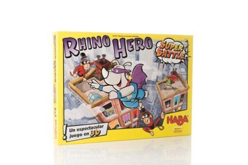 Rhino Hero: Super Battle juego de mesa