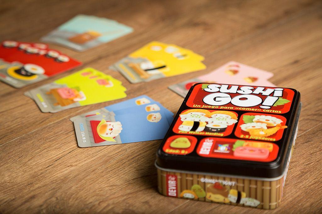 Sushi Go, juegos de mesa divertidos