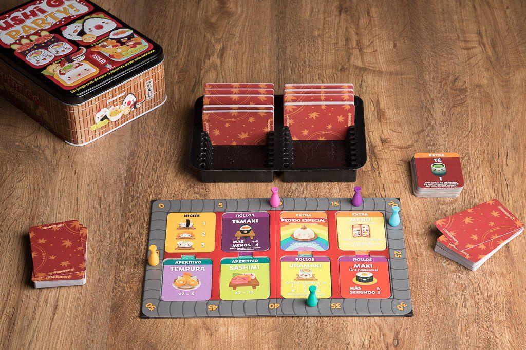 Sushi Go Party Juego De Cartas Juegos De Mesa Y Rol