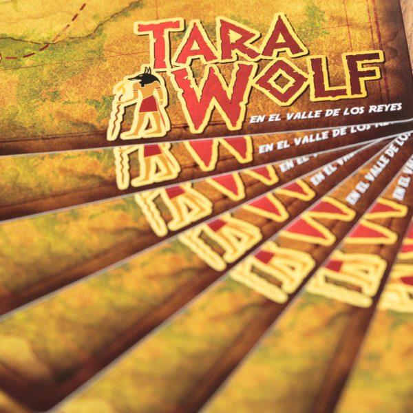 Tara Wolf en el valle de los reyes