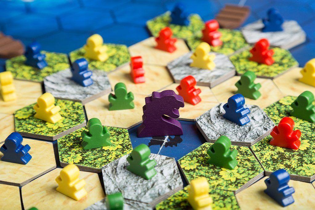 The Island 5, tipos de juegos de mesa, juegos de rol