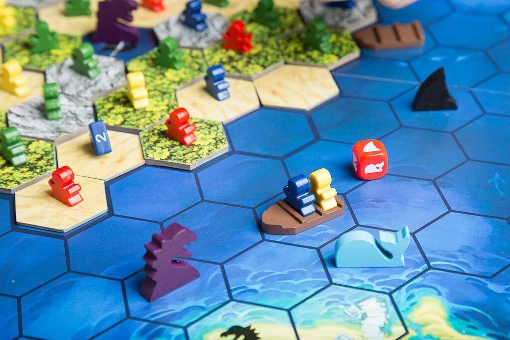 The island, juegos de mesa de aventuras en el mar