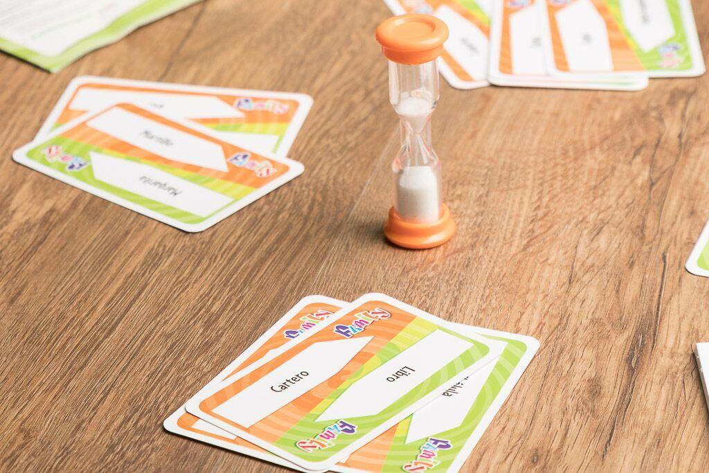Time is up family, duración de los juegos de mesa