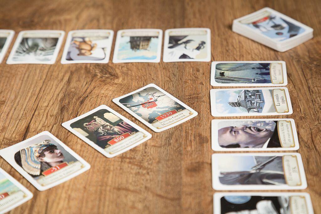 Timeline multitematico, juegos de mesa para contar historias