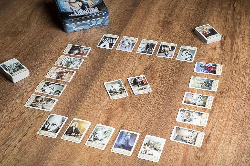 Timeline musica y cine, uno de los juegos de mesa para los amantes del cine