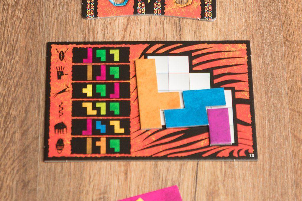 Ubongo es uno de los juegos de mesa de puzzle