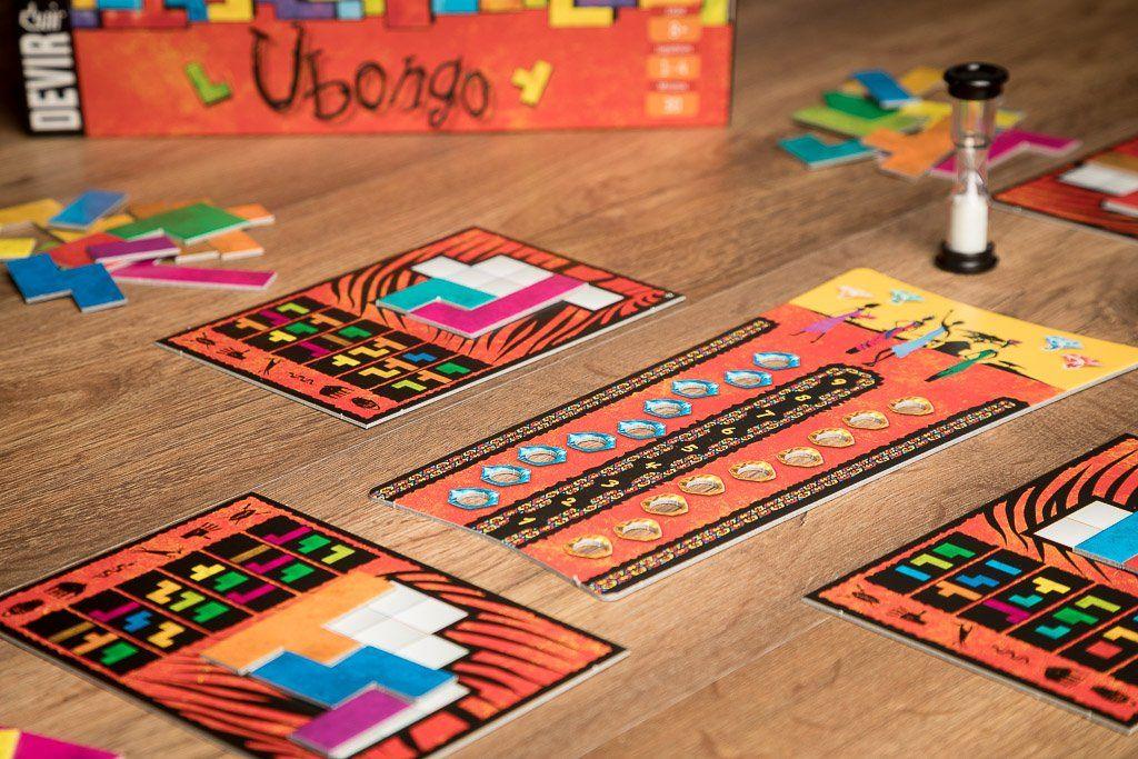 Ubongo Juego De Ingenio Y Rapidisimo Con Fichas De Tetris