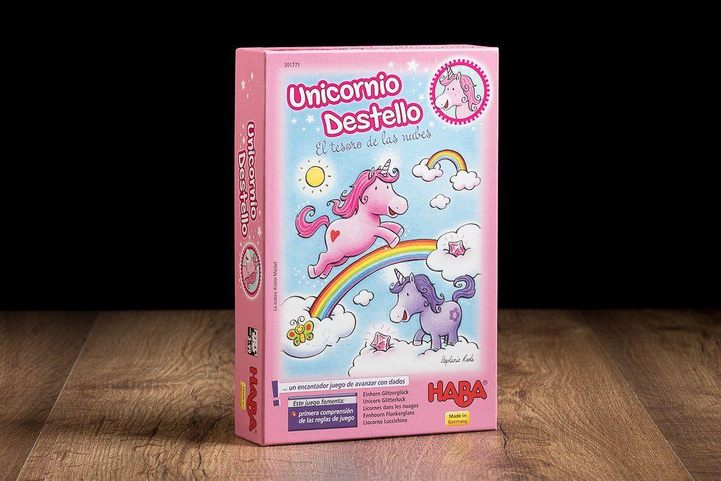 Unicornio Destello es uno de los juegos de mesa de escaleras