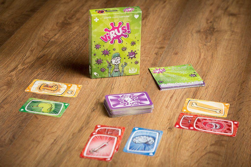 Rese a de virus el juego de mesa el mejor juego espa ol - Juego mesa virus ...