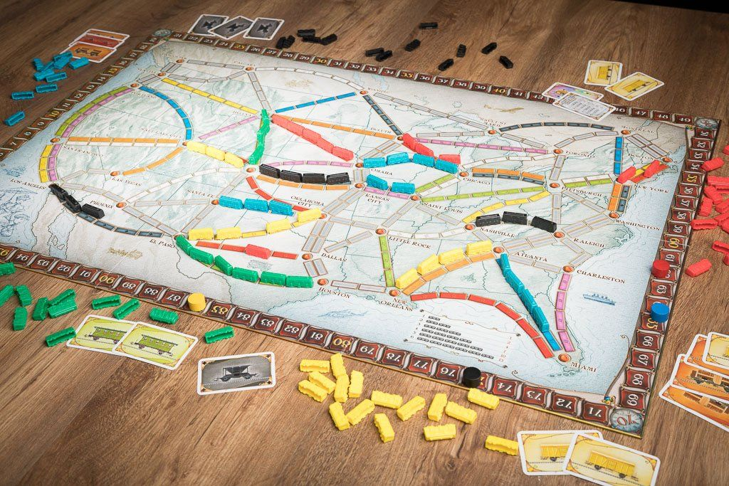 ¡Aventureros al tren!, juegos de mesa de trenes