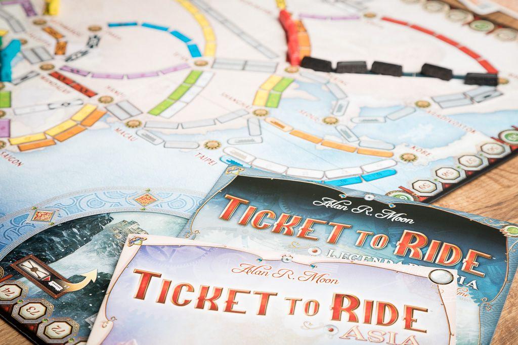 Aventureros al tren, juegos de mesa para regalar a tus padres