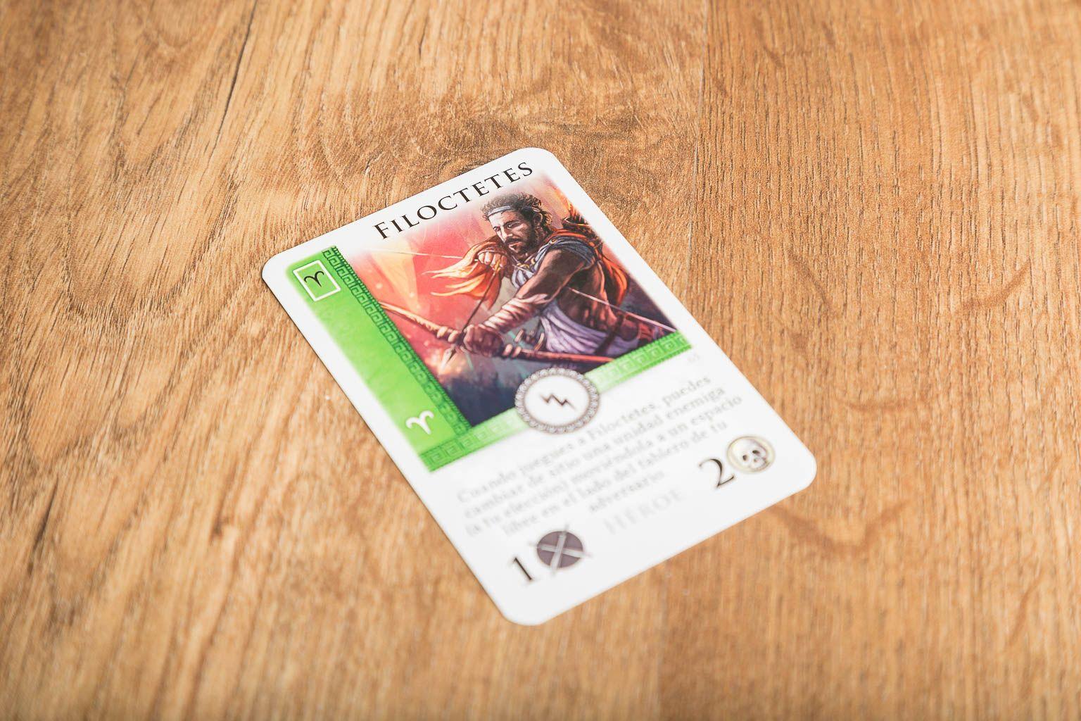 Batalla por el Olimpo, juegos de mesa para jugar con tu mejor amiga