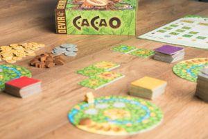 Cacao, juegos de mesa para los mayores de la casa