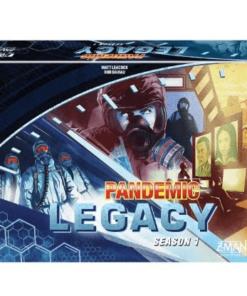 Caja azul Pandemic Legacy