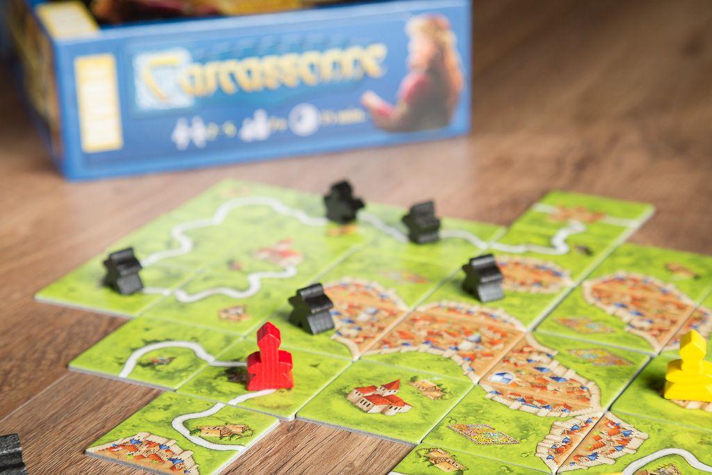 Carcassonne, juegos de mesa de campeonato