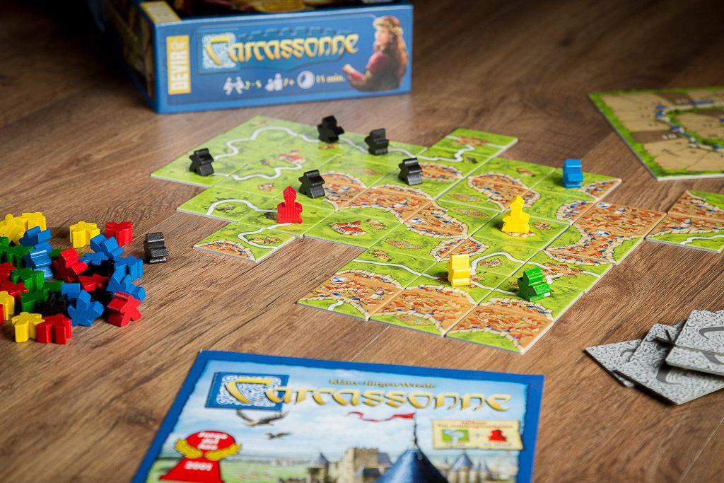 Carcassonne, juegos de mesa introductorios