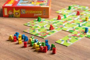 Carcassonne, juegos de mesa para cuando los niños están enfermos