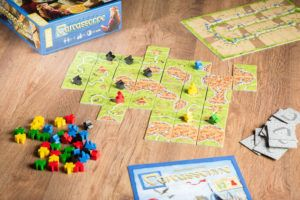 Carcassonne, juego de mesa para los mejores comerciantes
