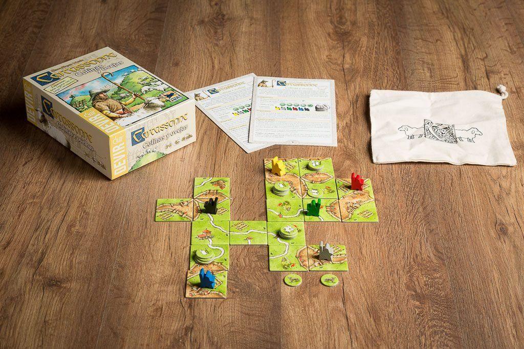 Carcassonne, juegos de mesa para mejorar la orientación espacial