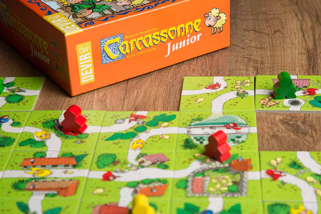 Juegos de mesa: Carcassonne Junior