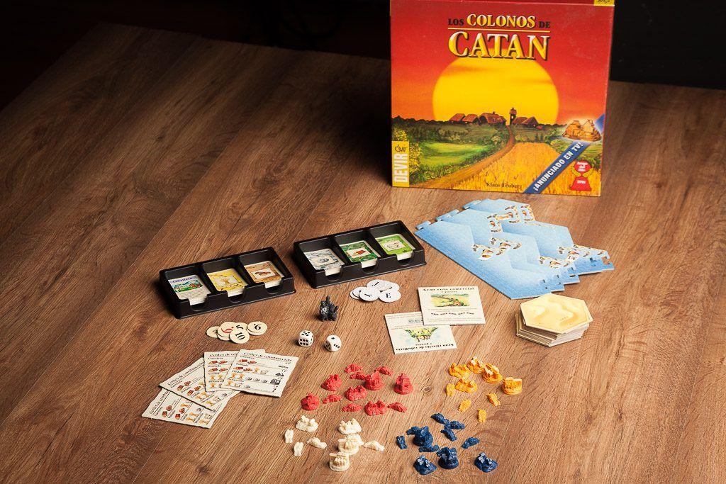Catan, juegos de mesa introductorios