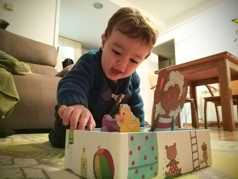 Conejito burbuja, juegos de mesa para que mis hijos jueguen solos