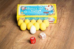Danza del huevo, educar jugando, psicomotricidad