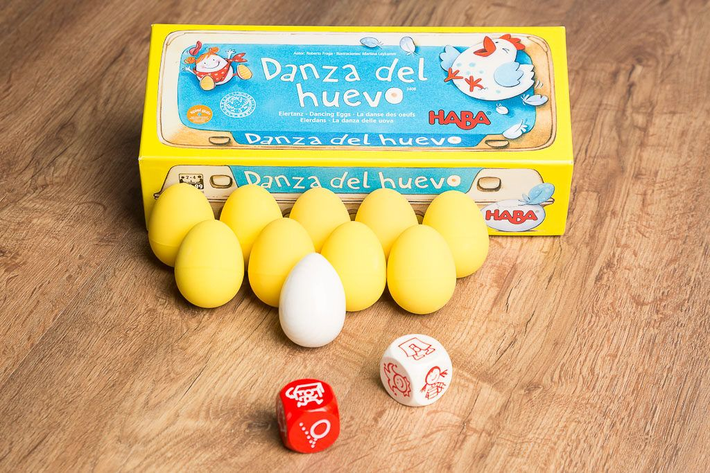 Danza del huevo, juegos de mesa para entrar en calor