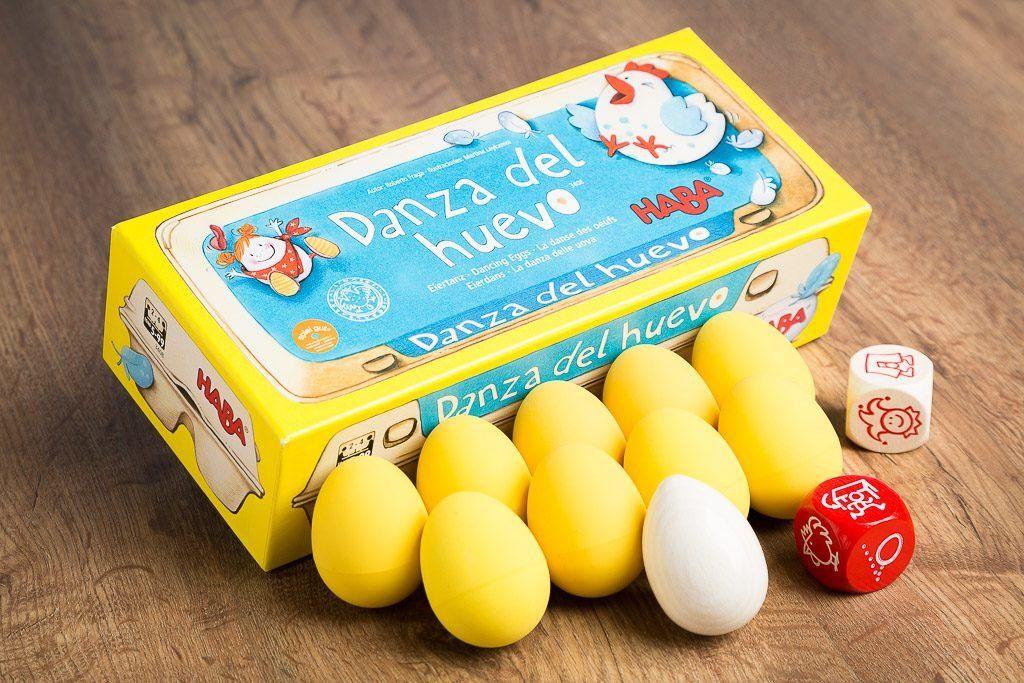 Danza del huevo, uno de los mejores juegos para jugar con niños de 7 años