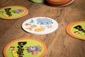 Dobble kids, juegos de mesa para la vuelta al cole