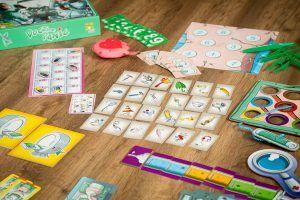 Doctor Panic, juegos de mesa para aprender oficios