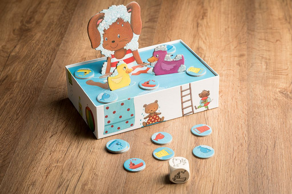 El conejito buebuja, juegos de mesa para desarrollar la coordinación mano ojo