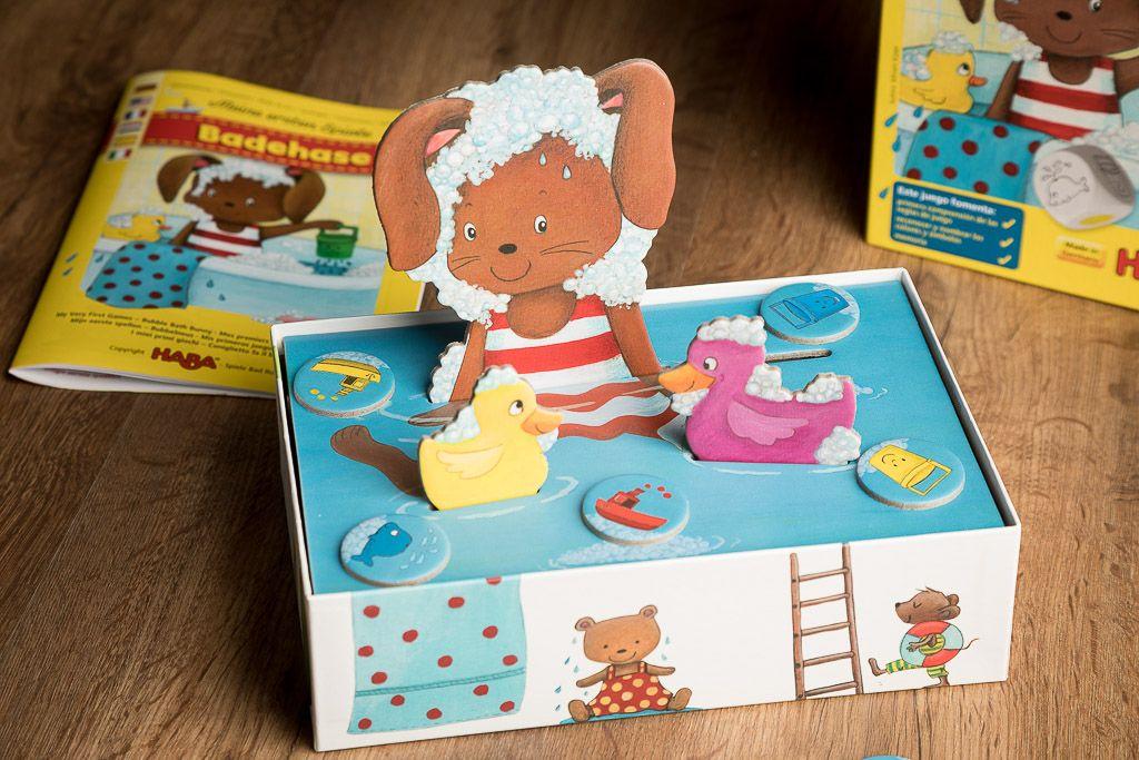 El conejito burbuja, juegos de mesa para niñas