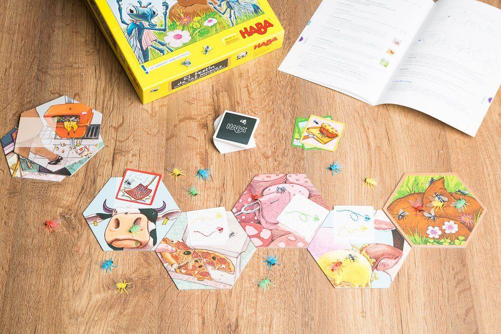 El festín de las moscas, los mejores juegos de mesa de la editorial HABA