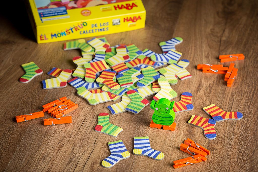 El monstruo de los calcetines, los mejores juegos de mesa pedagógicos