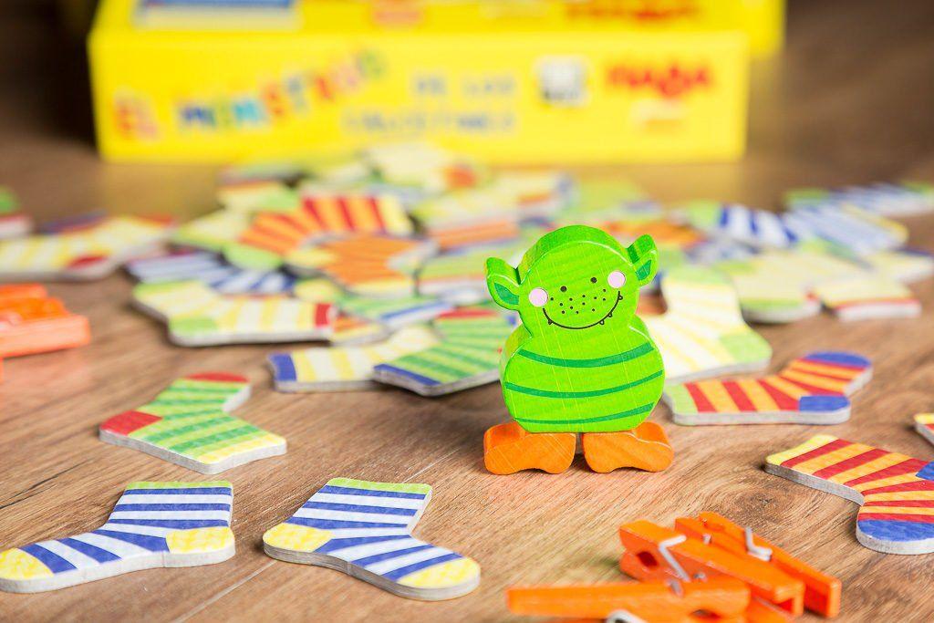 El monstruo de los calcetines, los mejores juegos de mesa de la editorial HABA