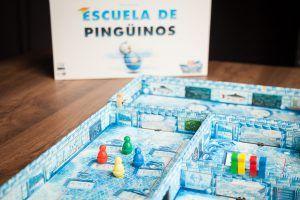 Escuela de pingüinos, juegos de mesa para amansar a pequeñas fieras