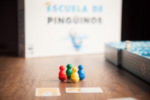 Escuela de pingüinos, juegos de mesa para los más animales