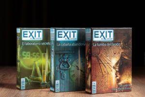 Exit, juegos de mesa para despedir el otoño