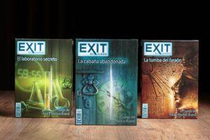 Exit, la mejor editorial de juegos de mesa en familia