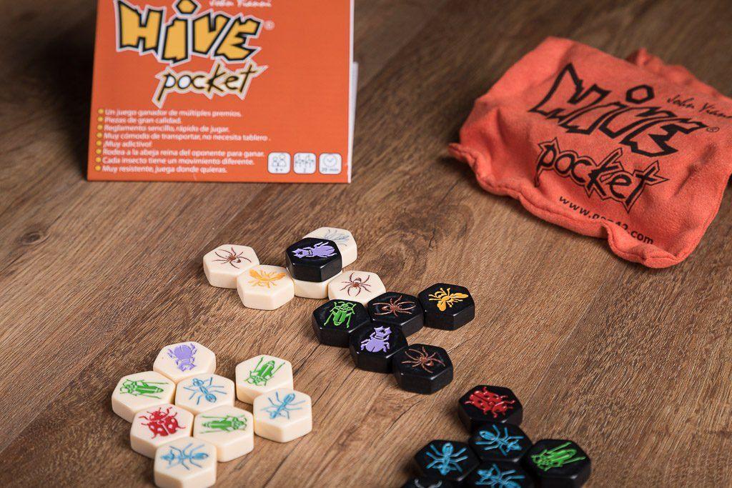 Hive pocket, juegos de mesa para la sala de espera
