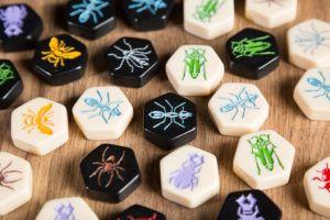 Hive, juegos de mesa para llevar en el bolso
