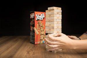 Jenga, juegos de mesa para ejercitar la concentración