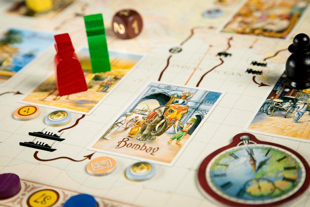 La vuetla al mundo en 80 días, juegos de mesa para los más listos
