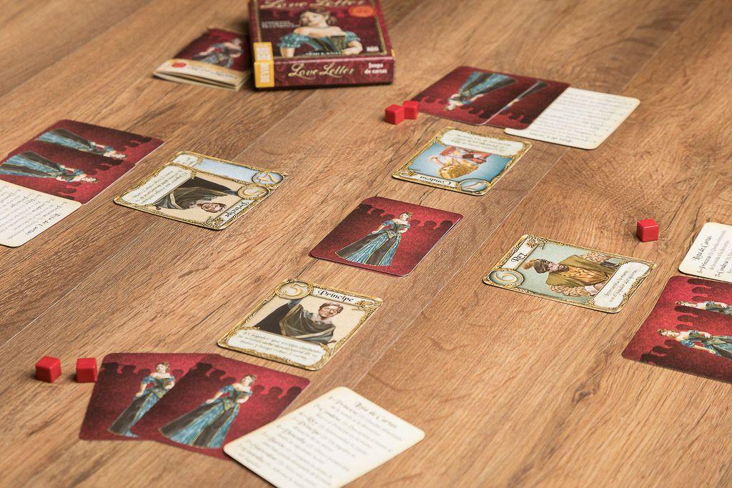 Love letter, juegos de mesa para excursiones a la nieve