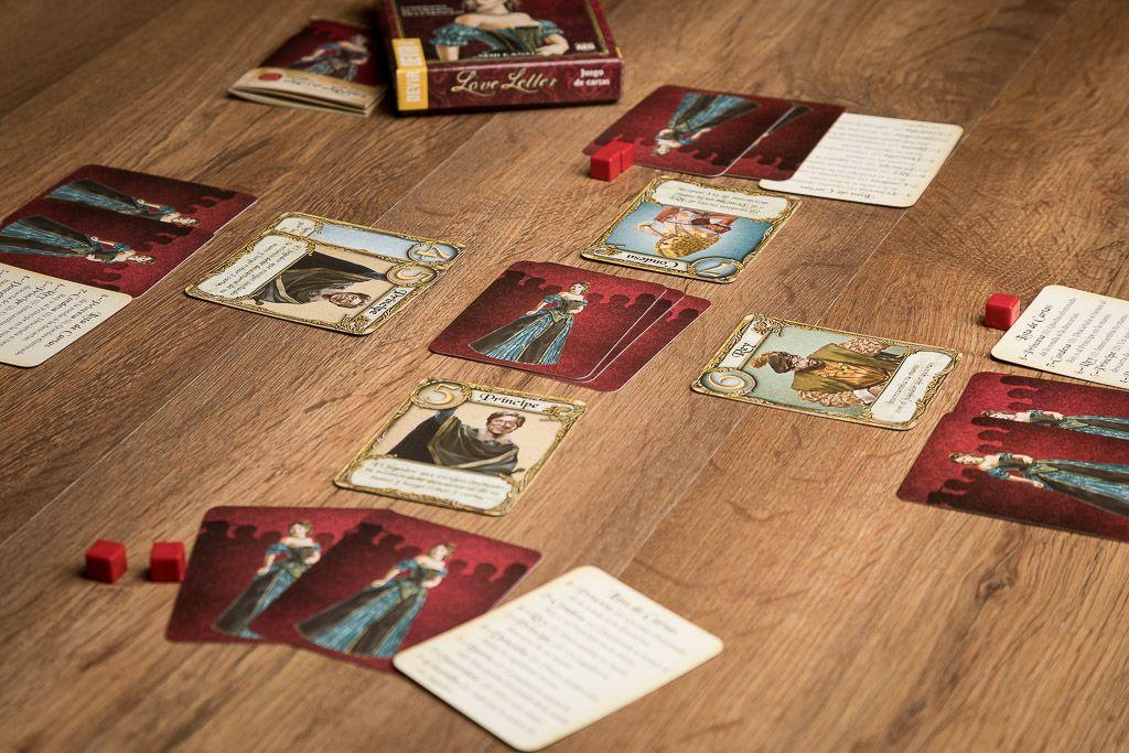 Love letter, juegos de mesa para meriendas con amigas