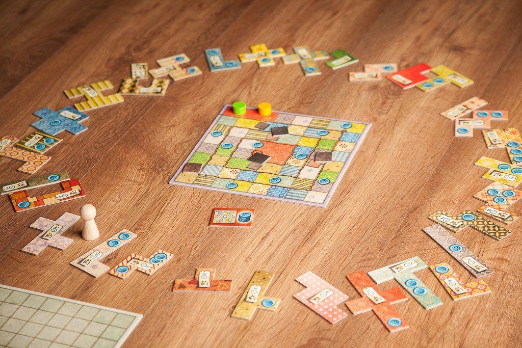 Patchwork, un gran juego barato para dos