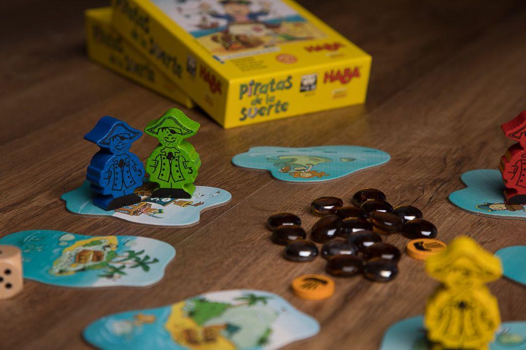 Piratas de la suerte, juegos de mesa para mejorar la habilidad manual