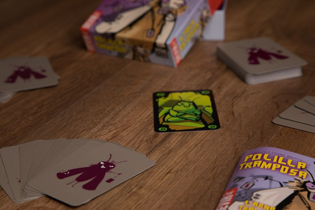 Polilla tramposa, juegos de mesa para cenas sin hijos