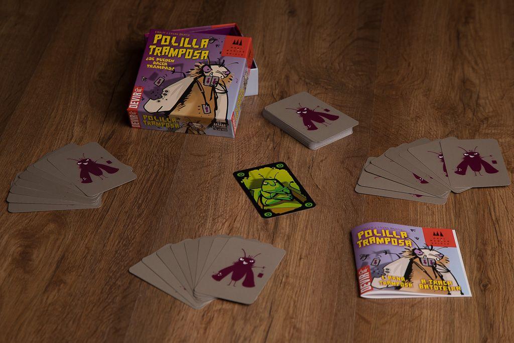 La polilla tramposa, juegos de mesa para trabajar la responsabilidad